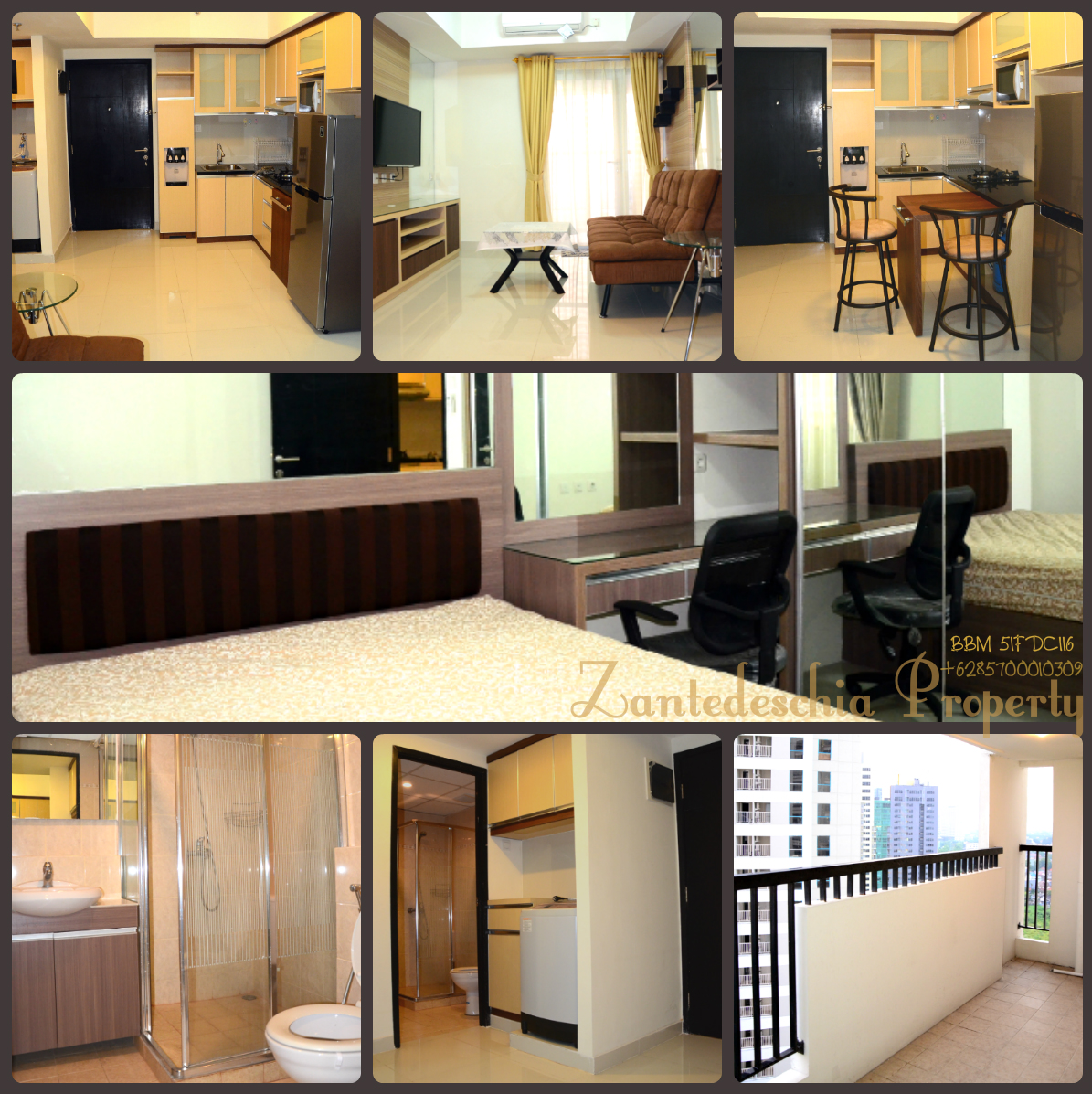 Coral Tower 1 Bedroom For Rent At 19 Floor